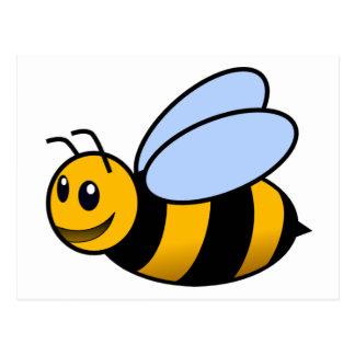Bee - cute postcard