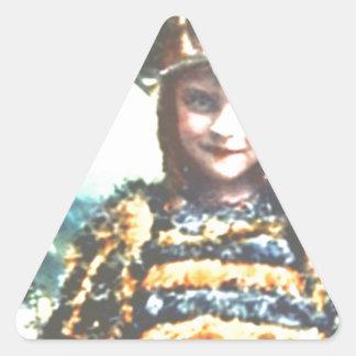 Bee Cute Triangle Sticker