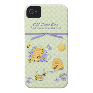 Bee Dance Party - Customize Case-Mate iPhone 4 Cases