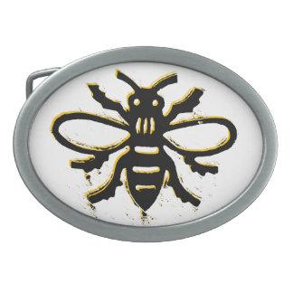 Bee design belt buckle