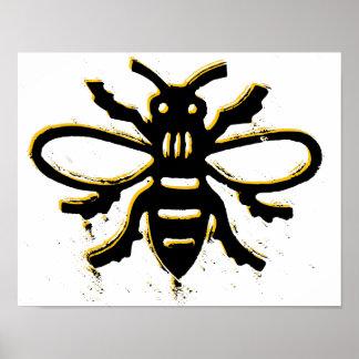 Bee design Poster