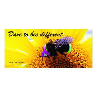 Bee Different 10 Cm X 23 Cm Rack Card