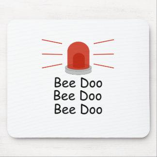 Bee Doo Bee Doo Bee Doo Mouse Pad