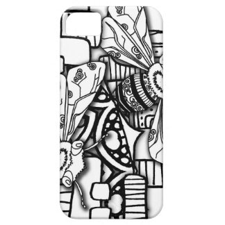 Bee Doodles Barely There iPhone 5 Case