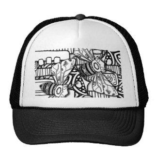 Bee Doodles Cap