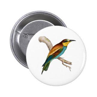 Bee-eat 6 Cm Round Badge