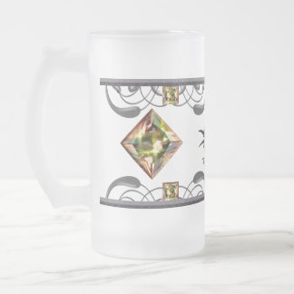 Bee Eater Bird 16 Oz Frosted Glass Beer Mug