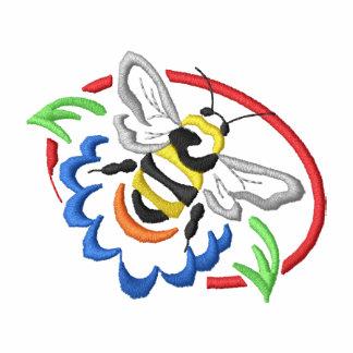 Bee Embroidered Polo Shirt