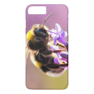 Bee Flower Beautiful Nature Scenery iPhone 7 Plus Case