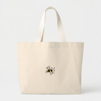 Bee Free Honey and Black - Canvas Bag