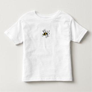 Bee Free Honey and Black Mini Tshirt