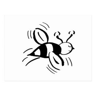 Bee Free - nd Postcard