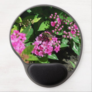 Bee Gathering Pollen Gel Mouse Pad