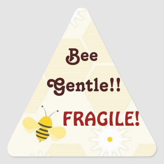 Bee Gentle - Fragile Mailing Stickers