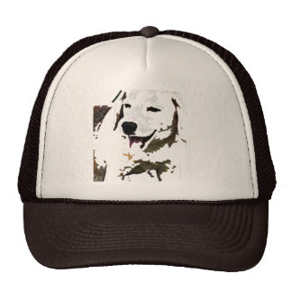 Bee-Giggle Mesh Hat