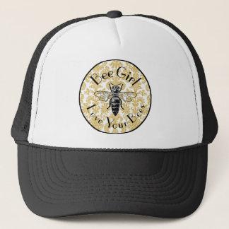Bee Girl Trucker Hat