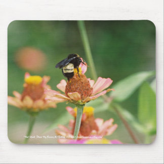 """Bee"" Good Mouse Pad"