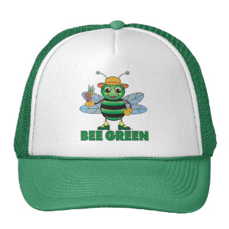 BEE Green Hat