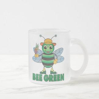 BEE Green Coffee Mug