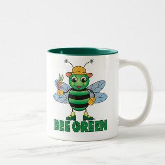 BEE Green Two-Tone Mug