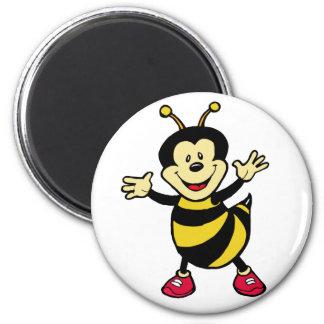 Bee Guy 6 Cm Round Magnet