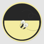 Bee Happy Bumble Bee Envelope Seal Stickers