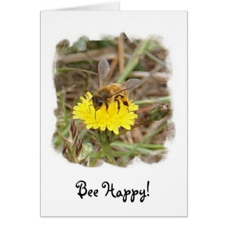 Bee Happy! Card
