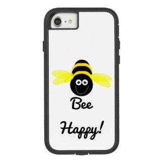 Bee Happy cartoon bee phone case