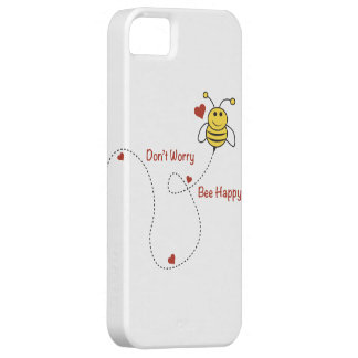 Bee Happy Case Barely There iPhone 5 Case
