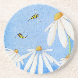 Bee Happy Daisies Coaster
