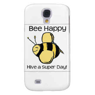 bee happy - Hive a super day Galaxy S4 Case