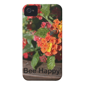Bee Happy iPhone 4 Case-Mate Cases