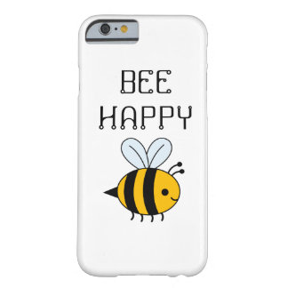 BEE HAPPY PHONE CASE BARELY THERE iPhone 6 CASE
