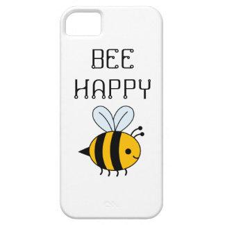 BEE HAPPY PHONE CASE iPhone 5 CASE