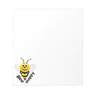 Bee Happy Small Notepad