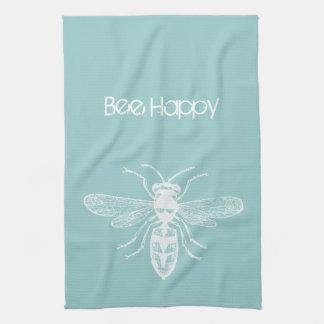Bee Happy Towels