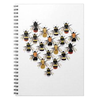 Bee Heart Note Book