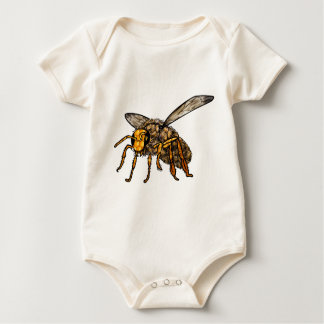 Bee Hive in Bee Baby Bodysuit