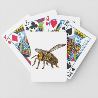 Bee Hive in Bee Bicycle Playing Cards