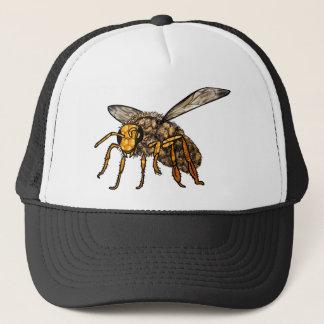 Bee Hive in Bee Trucker Hat