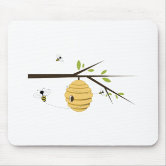 Bee Hive Mouse Mat