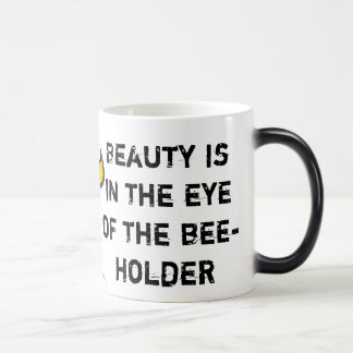 Bee-Holder Heat-Revealing Mug
