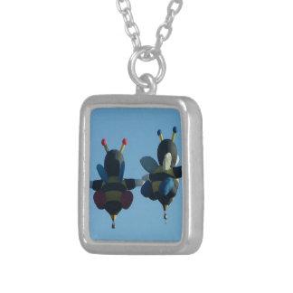 Bee Hot Air Balloon Necklace