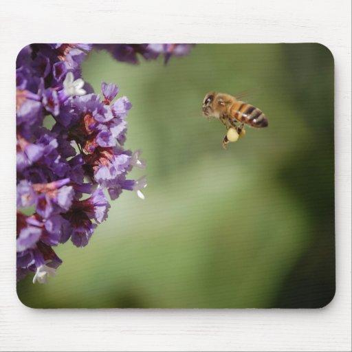 Bee in Flight Mousepad