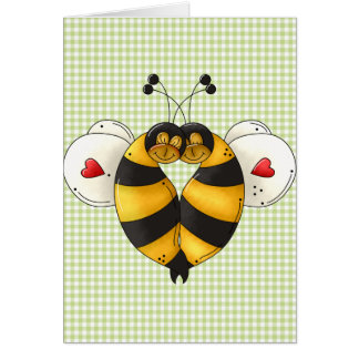 Bee In Love Cards