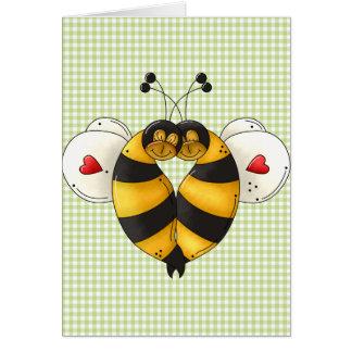 Bee In Love Card