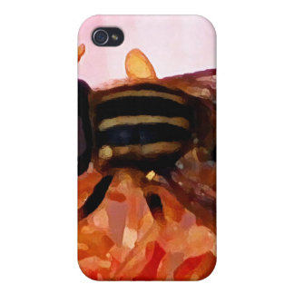 Bee in the Flower Covers For iPhone 4