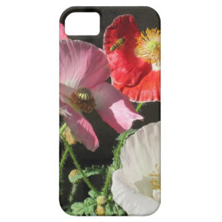 """""""Bee In The Poppies"""" phone case Case For The iPhone 5"""