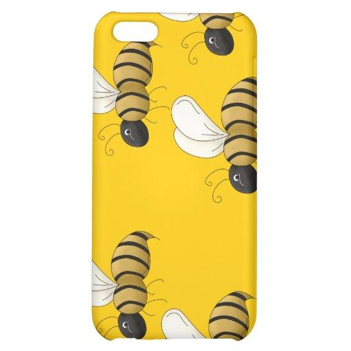 Bee Ipad casing iPhone 5C Covers