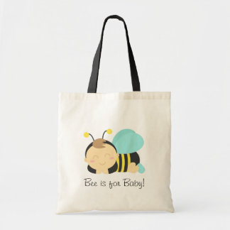 Bee is for Baby, Bumble Bee for Mommy Budget Tote Bag
